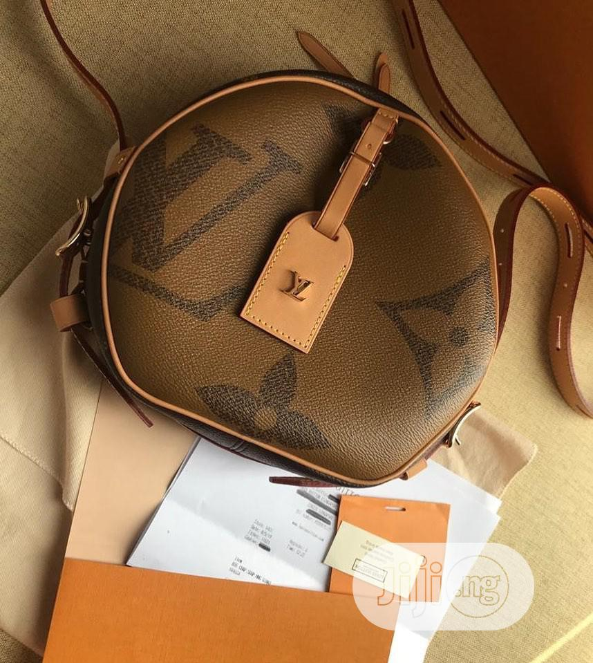 Original Louis Vuitton Leather Bag   Bags for sale in Surulere, Lagos State, Nigeria