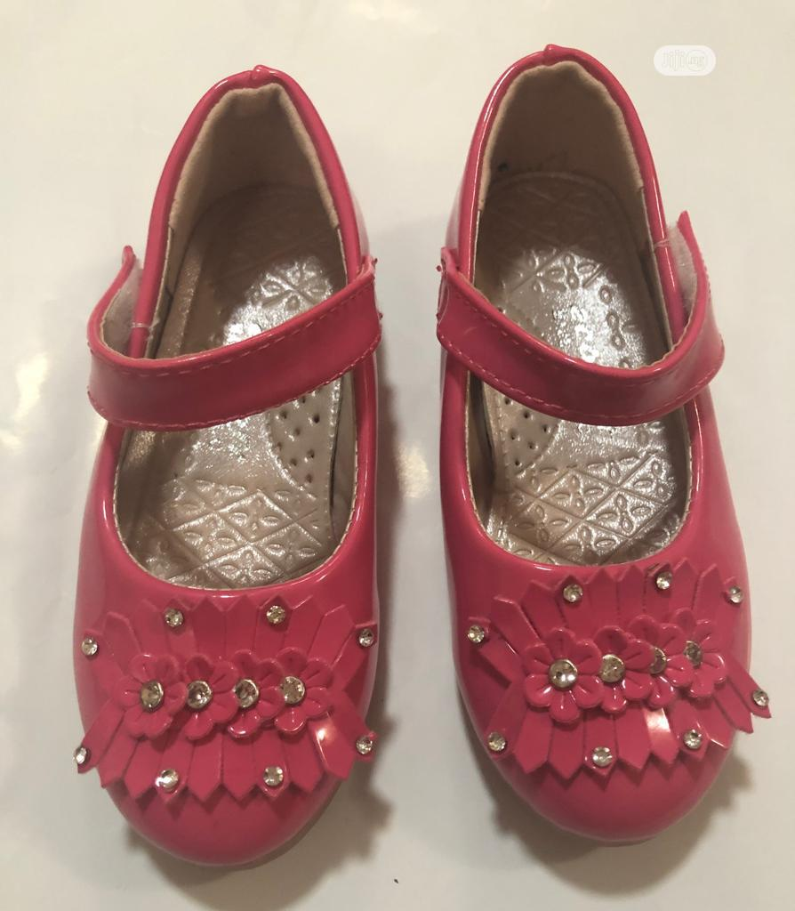Cute Pink Baby Shoes , Sizes 25 To 30