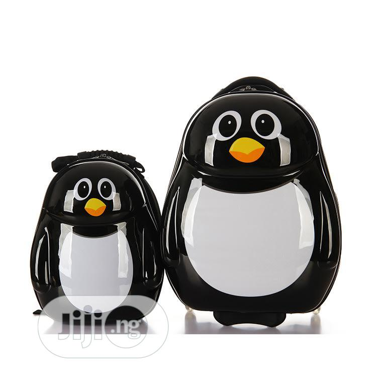 PENGUIN 2PCS SET Children Trolley School Bags Kids Luggage   Babies & Kids Accessories for sale in Amuwo-Odofin, Lagos State, Nigeria