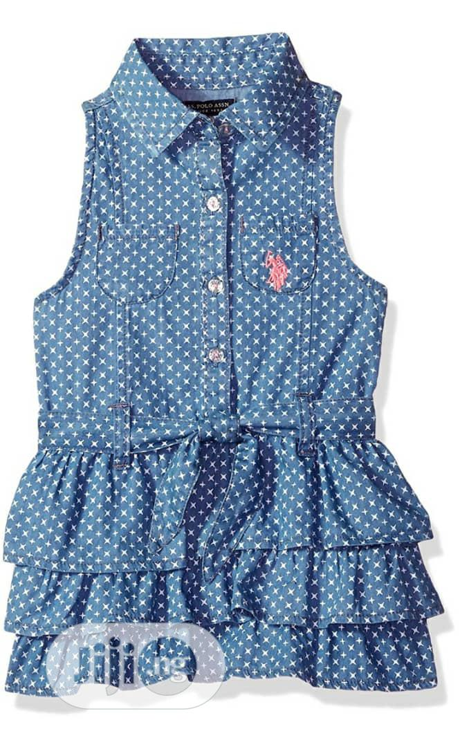 Archive: U.S Polo Assn Collared Blue Dress Size6