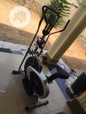 Orbitrac Bike With Dumbbell   Sports Equipment for sale in Lagos State, Surulere