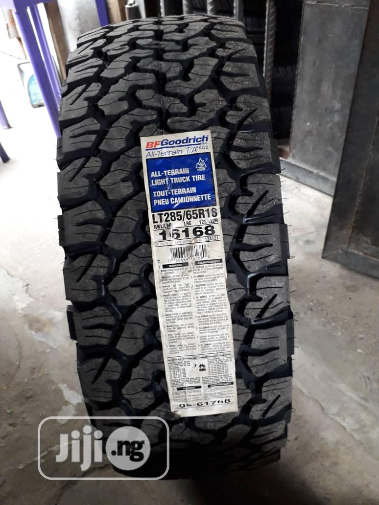 Jeep and Low Profile Tyres