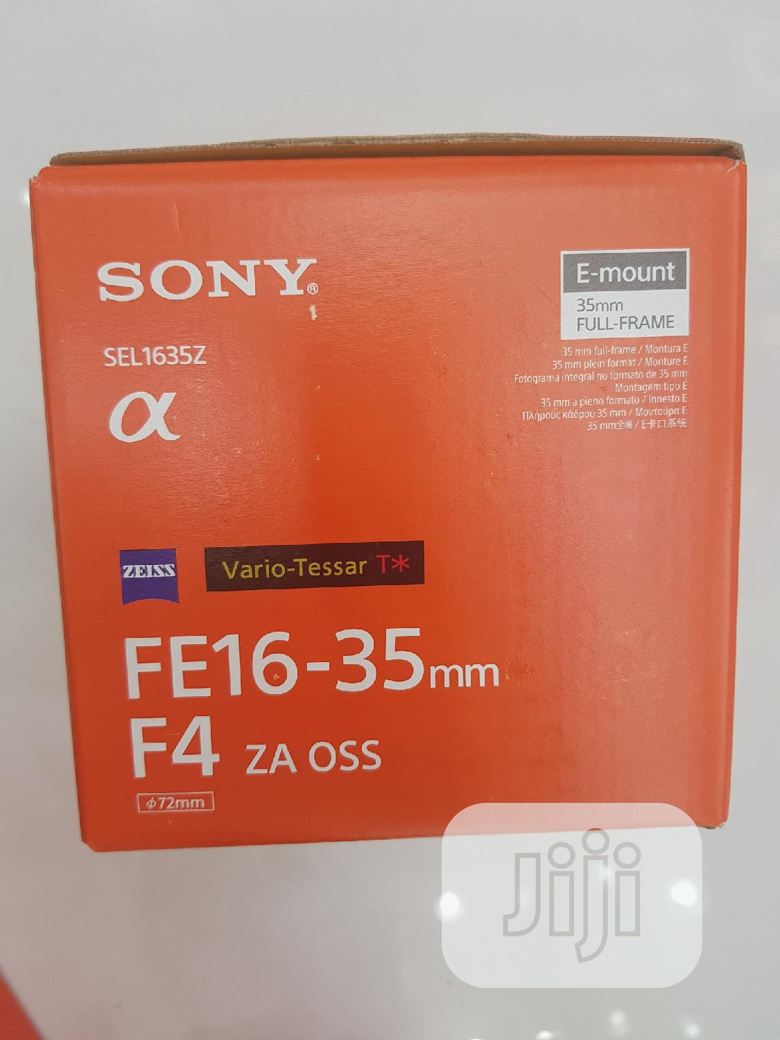 SONY Lens 16-35mm (New)