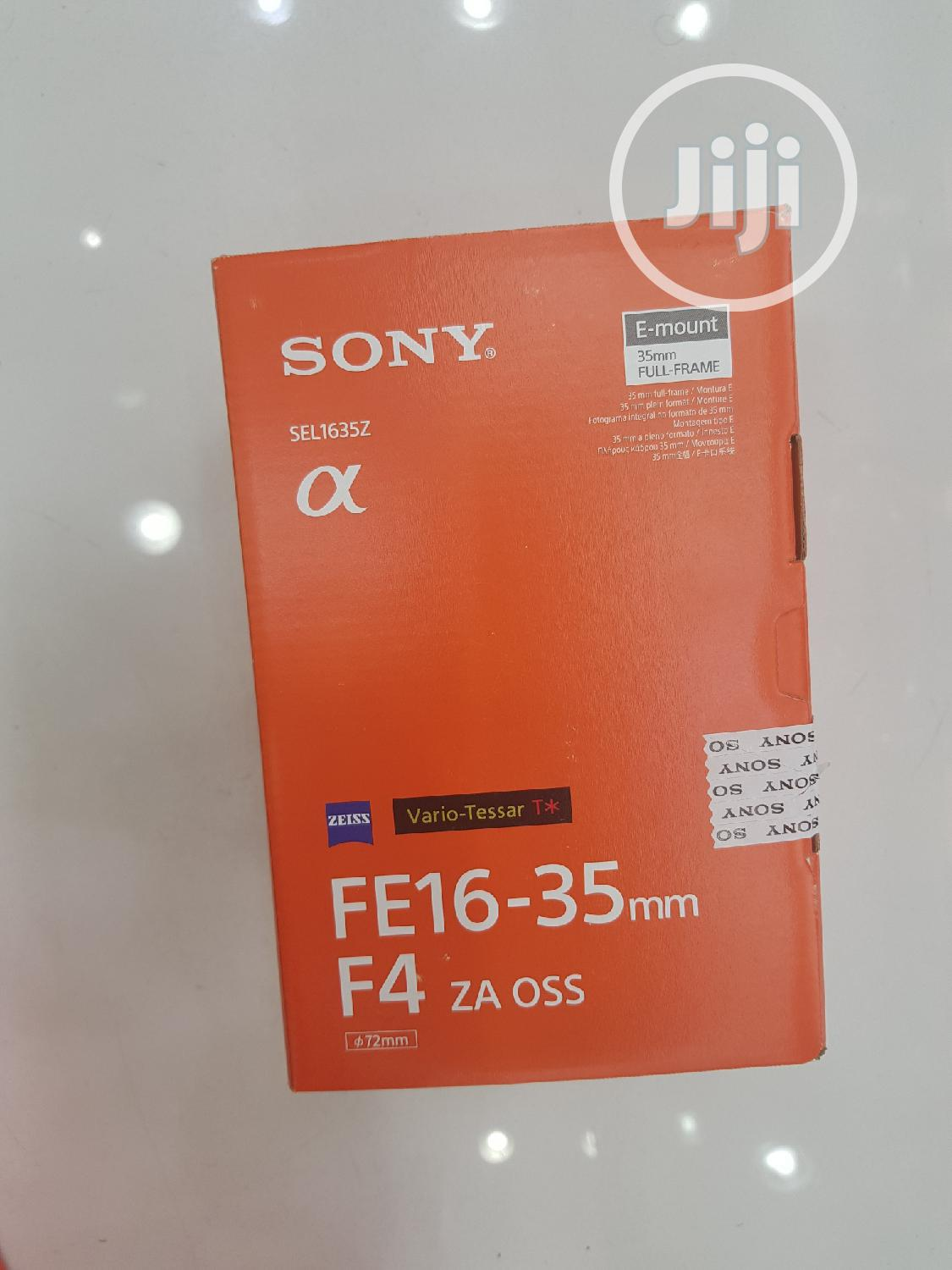 SONY Lens 16-35mm (New) | Accessories & Supplies for Electronics for sale in Wuse 2, Abuja (FCT) State, Nigeria
