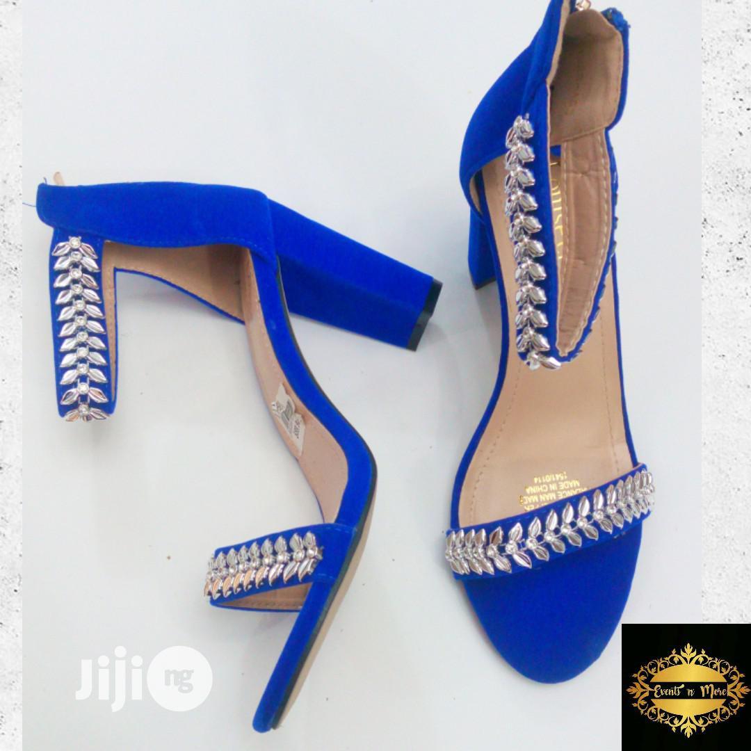Royal Blue Block Heel in Ilorin South