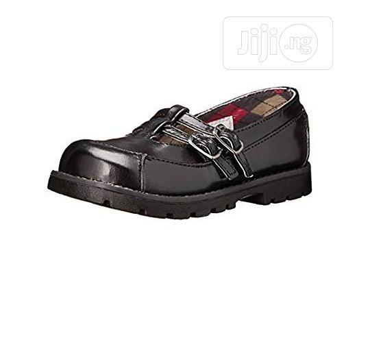 Classroom Mary Janet-strap School Shoes - Black