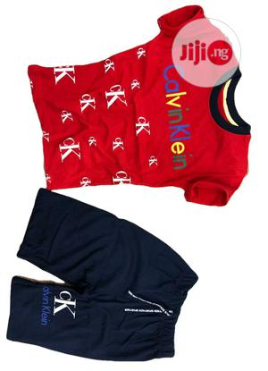 Turkey CK Boys Shirt and Pant Set   Children's Clothing for sale in Lagos State, Isolo