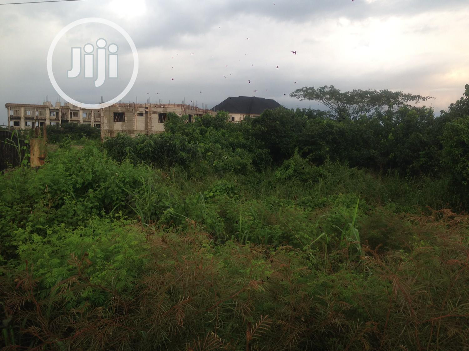6 Plots of Land for Sale Facing Along Port Harcourt Road New Owerri