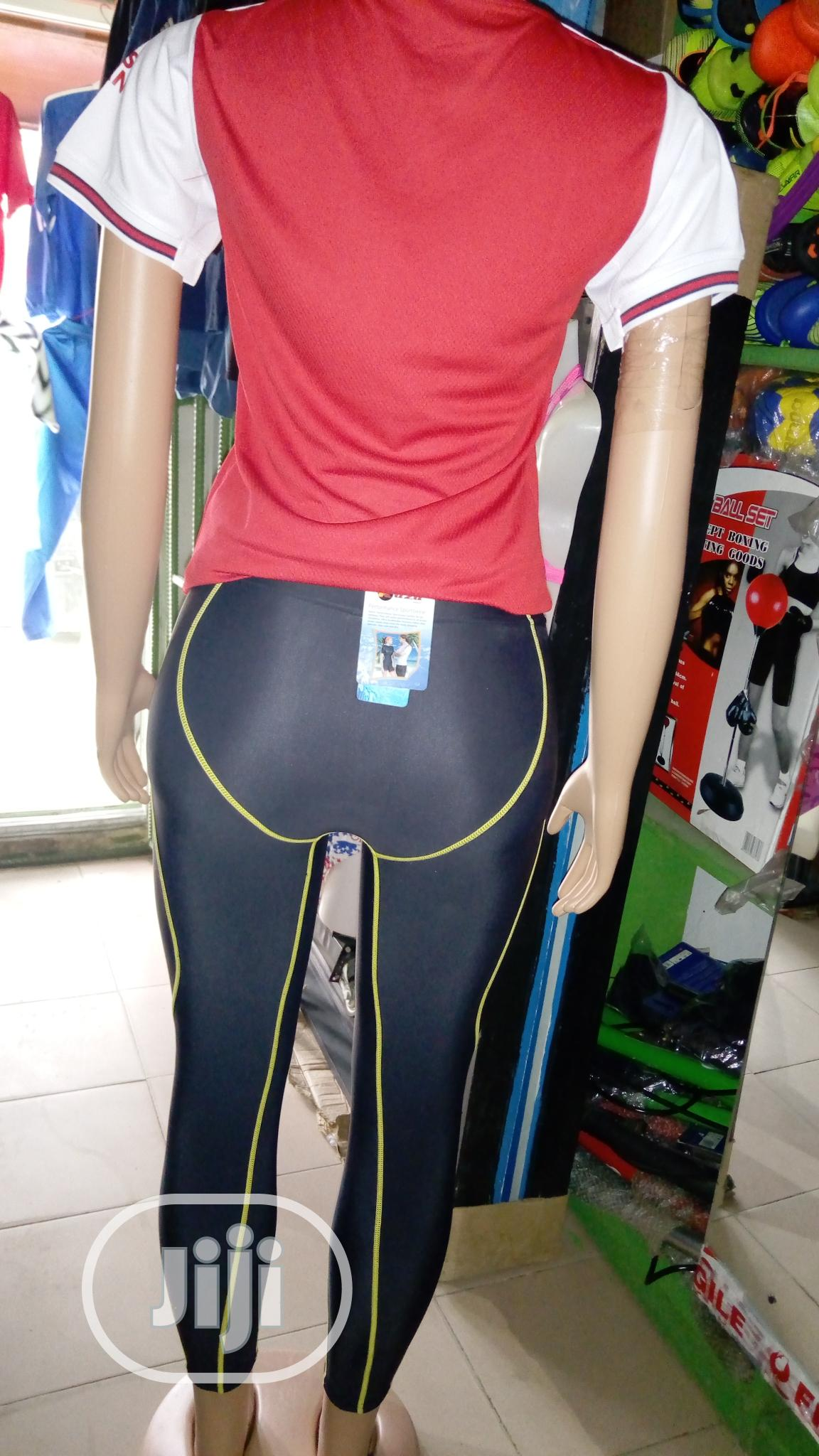 Female Arsenal Jersey With Leggings Tight | Clothing for sale in Ikeja, Lagos State, Nigeria