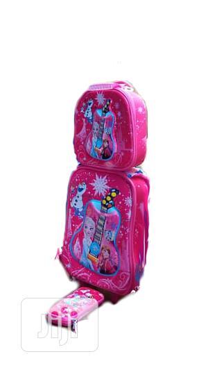 Frozen 3 In 1 Kids'school Bag Trolley   Babies & Kids Accessories for sale in Lagos State, Amuwo-Odofin