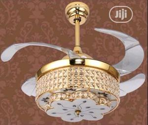 Led Crystal Chandelier Fan With Multiple Colors | Home Accessories for sale in Lagos State, Badagry