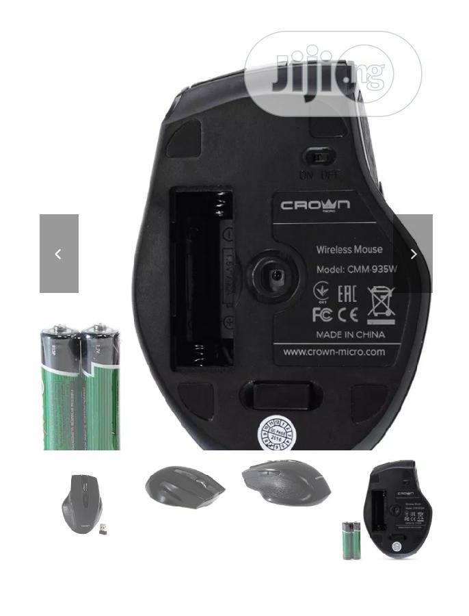 Archive: Crown Wireless Mouse CMM-935W