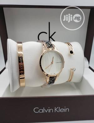 Calvin Klein (Ck) Rose Gold/Bangle Watch For Women's | Watches for sale in Lagos State, Lagos Island (Eko)