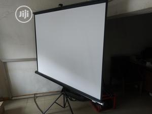 Tripod Projector Screen. | Accessories & Supplies for Electronics for sale in Lagos State, Ikeja