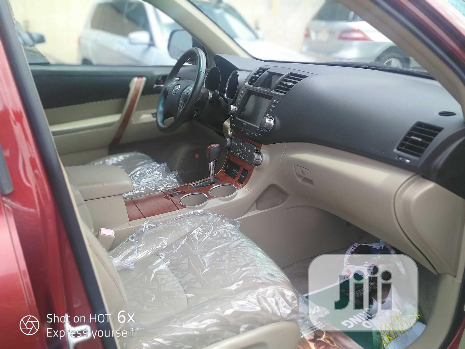 Toyota Highlander 2010 Limited Red | Cars for sale in Apapa, Lagos State, Nigeria