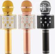Professional Bluetooth Wireless Microphone Speaker Handheld | Audio & Music Equipment for sale in Lagos State, Ikeja