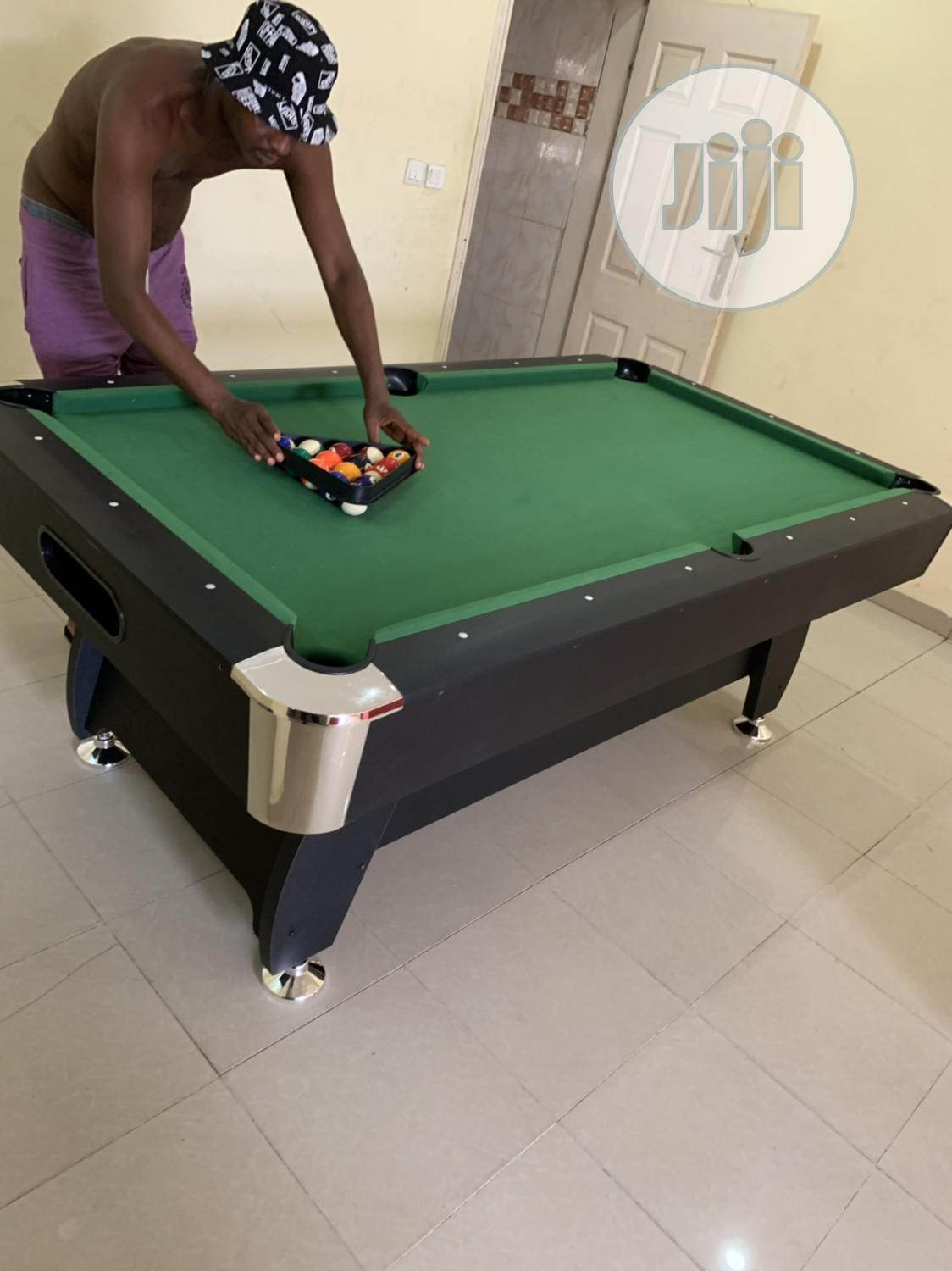 Snooker Table With Double Accessories