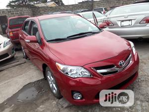 Toyota Corolla 2013 Red | Cars for sale in Lagos State, Apapa