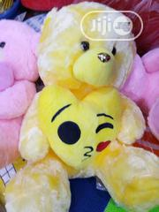 Teddy Bear With Emoji Heart | Toys for sale in Lagos State, Lagos Island