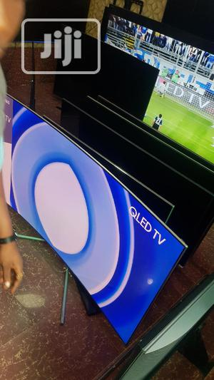 """Latest 65"""" Samsung QLED Curved Smart 4K SUHD TV 