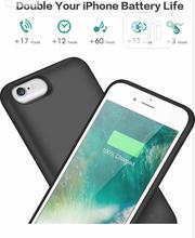 iPhone 6/6s 5000mah-6000mah Battery Backup Case   Accessories for Mobile Phones & Tablets for sale in Lagos State, Ikeja