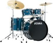 Tama Imperialstar Hairline Blue 5-Piece Drum Set | Musical Instruments & Gear for sale in Lagos State, Ojo