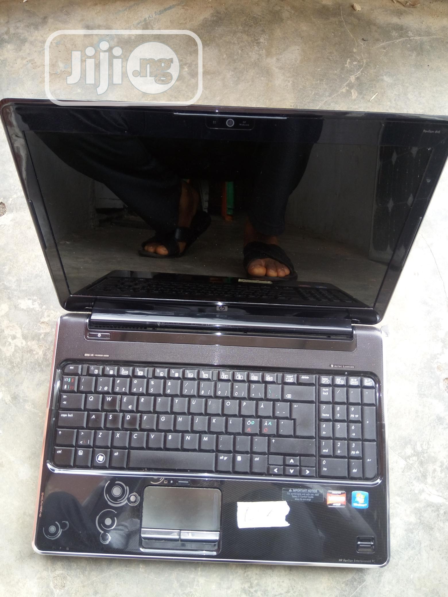 Laptop HP Pavilion Dv6 2GB AMD HDD 160GB