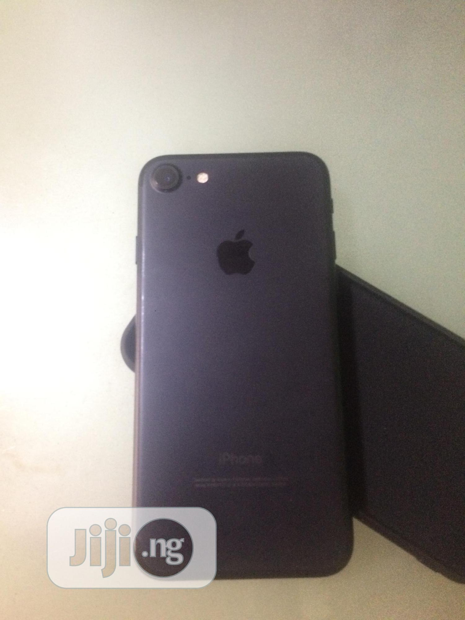 Apple iPhone 7 128 GB Black   Mobile Phones for sale in Ikeja, Lagos State, Nigeria
