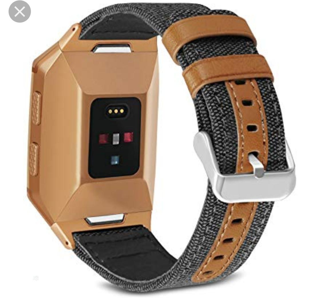 Fitbit Fitness Sports Smart Watch (Ionic)   Smart Watches & Trackers for sale in Ikeja, Lagos State, Nigeria