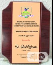 Rosewood Plaques/Awards   Manufacturing Services for sale in Lagos State, Ikeja