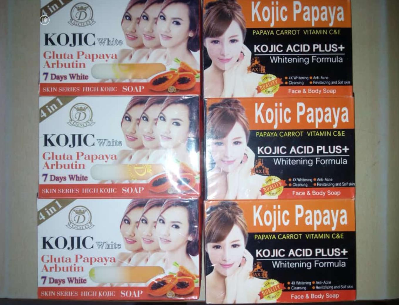 Archive: Kojic Papaya Gluta Arbutin Whitening Soap