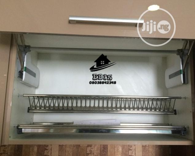 Cabinet Plate Rack(60cm, 80cm 90cm)
