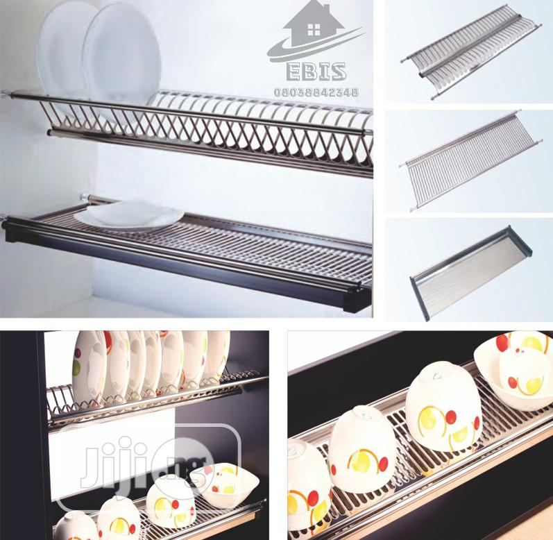 Cabinet Plate Rack(60cm, 80cm 90cm) | Kitchen & Dining for sale in Orile, Lagos State, Nigeria