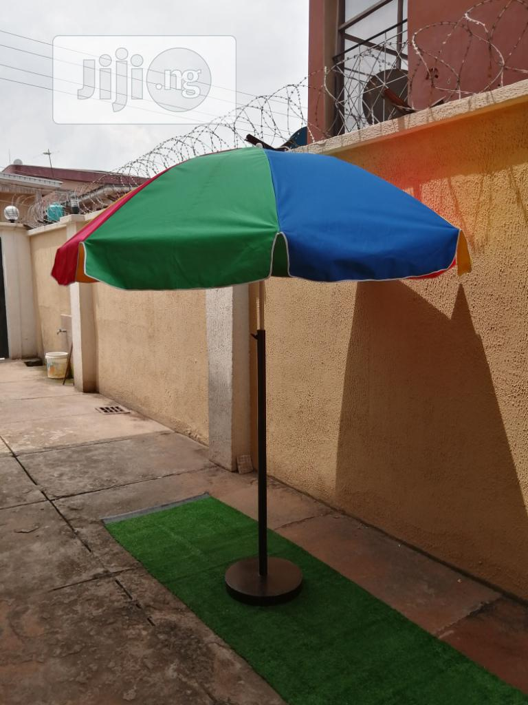 Durable Branded Parasol With Quality Modern Stand | Garden for sale in Ezinihitte, Imo State, Nigeria