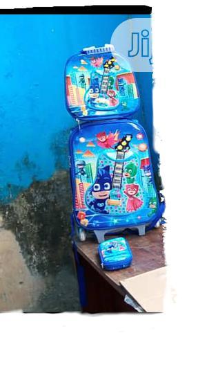 Pj Mask 3 In 1 Kids'school Bag Trolley   Bags for sale in Lagos State, Amuwo-Odofin