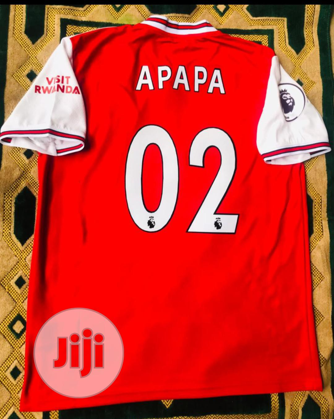 Original Arsenal FC Home Away Jersey | Clothing for sale in Dutse-Jigawa, Jigawa State, Nigeria