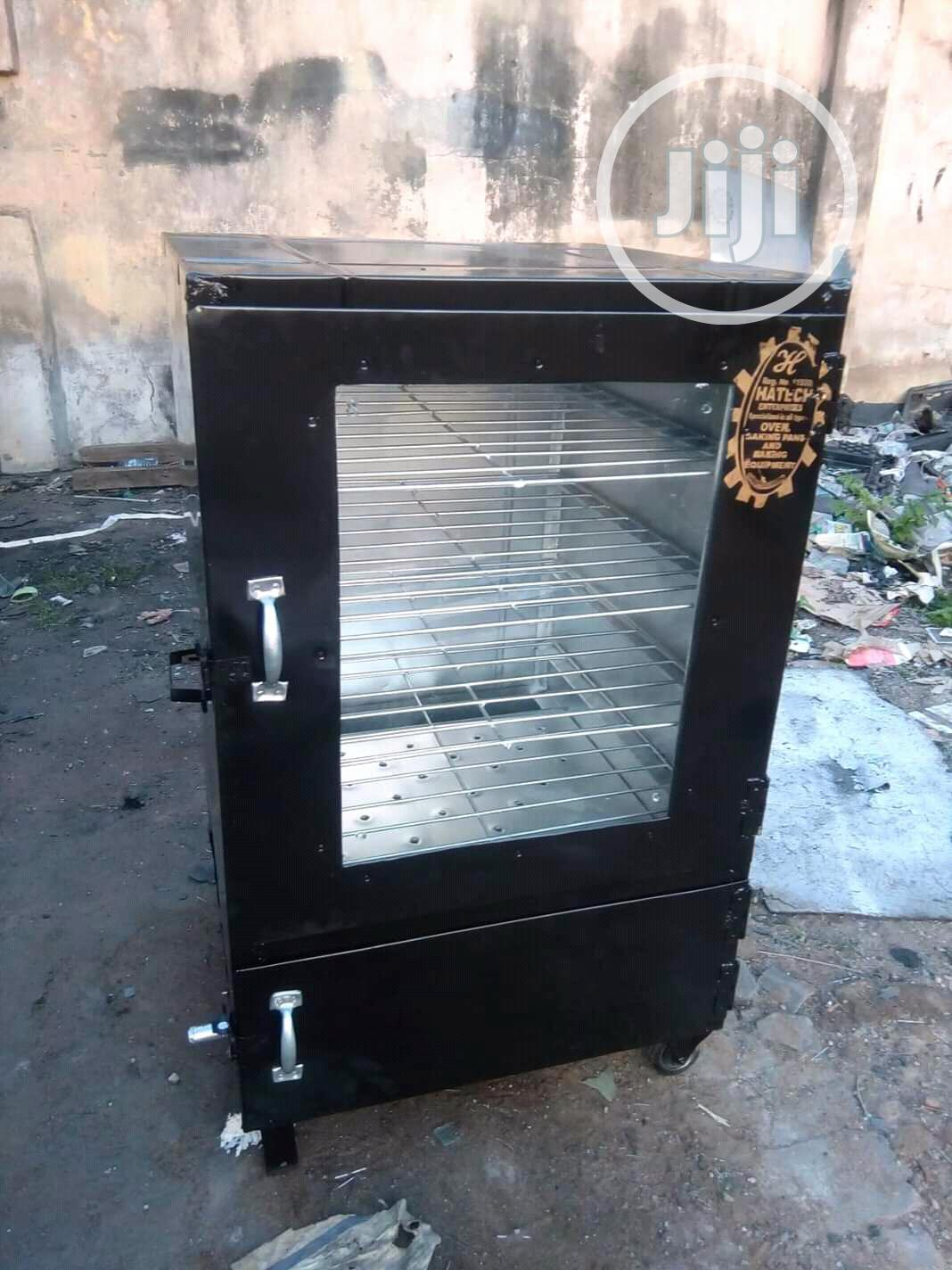 Easy-tech Enterprises Charcoal And Gas Oven