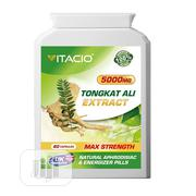 Tongkat Ali Extract 5000mg For Erection And Stamina | Sexual Wellness for sale in Lagos State, Magodo