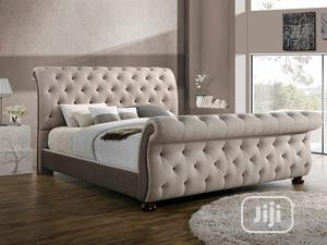 Upholstery Sofa's Frabic Bed Frame,,,,,6 By 6,,, With,,2bedside Drawer | Furniture for sale in Lagos State, Ajah