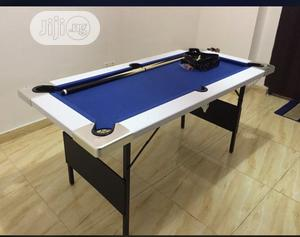 Mini Snooker Table With Complete Accessories (5ft)   Sports Equipment for sale in Lagos State