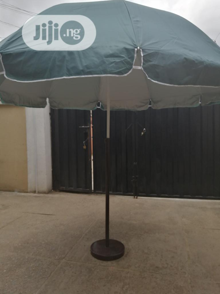 Parasol And Quality Stand For Sale