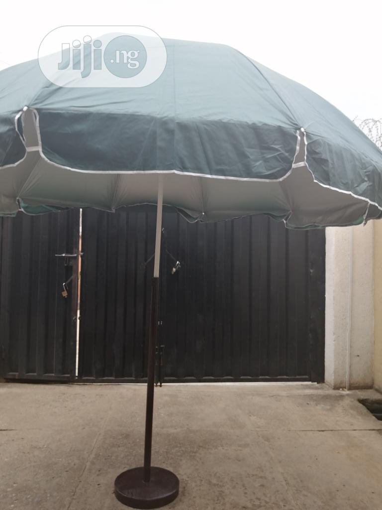 Exquisite Modern Stand With Parasol Umbrella | Manufacturing Services for sale in Dei-Dei, Abuja (FCT) State, Nigeria