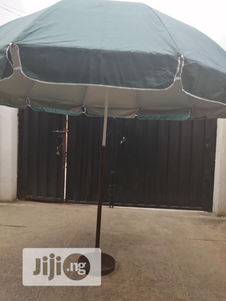 Outdoor Customized Parasol With Modern Stand | Manufacturing Services for sale in Fune, Yobe State, Nigeria