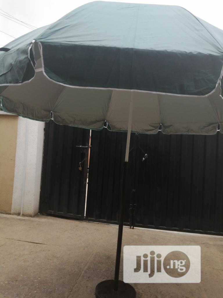 Modern Stand With Customized Branded Parasol Umbrella | Manufacturing Services for sale in Emure, Ekiti State, Nigeria