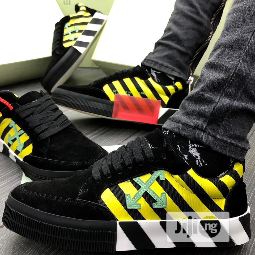 off white vulc sneaker