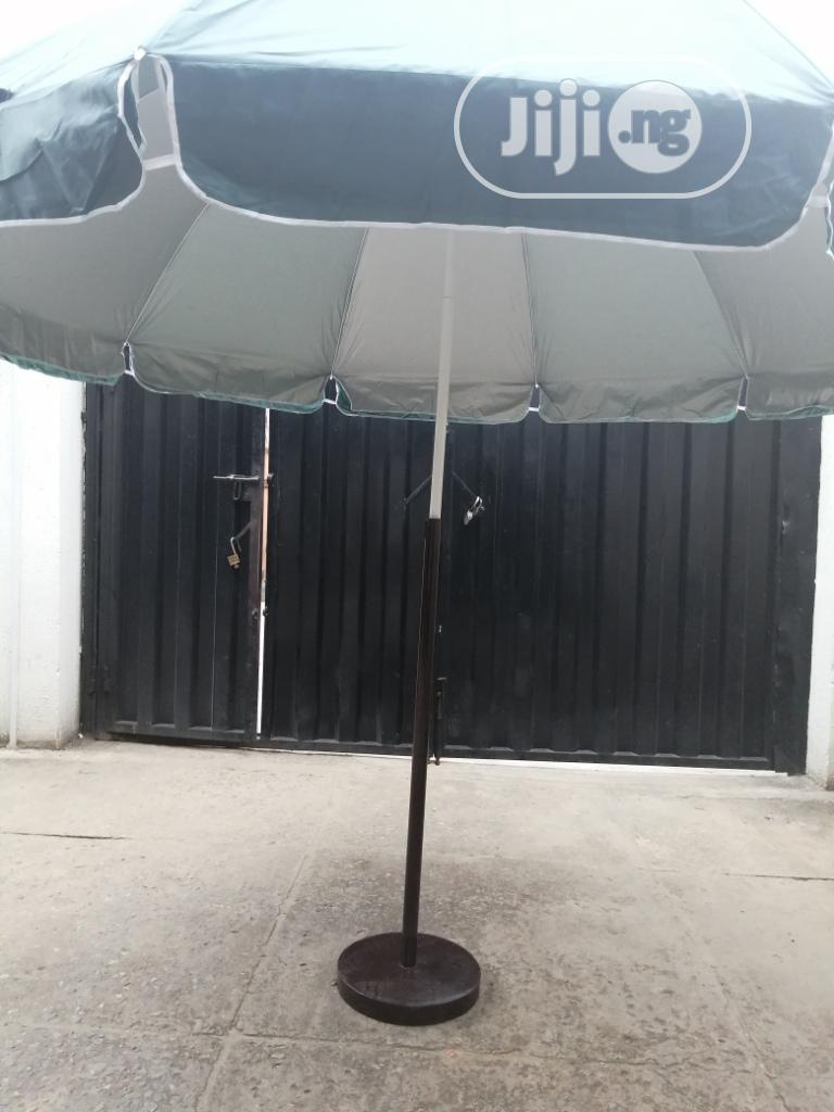 Parasol Umbrella With Durable Stand