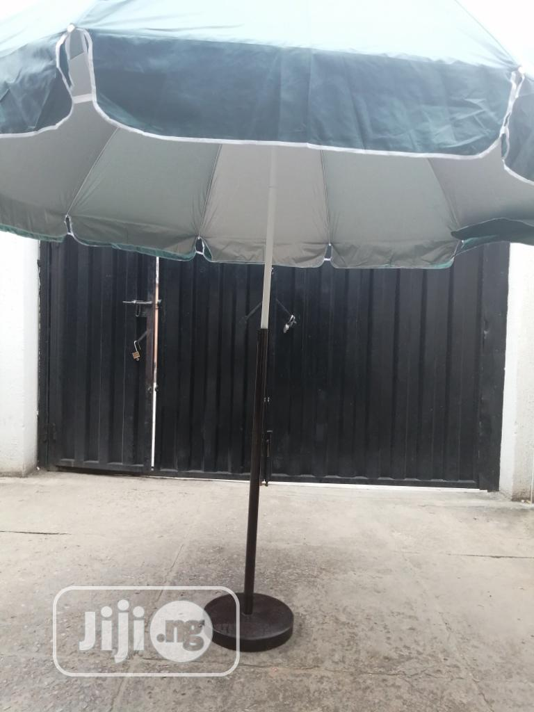 Get Quality Branded Parasol With Iron Stand
