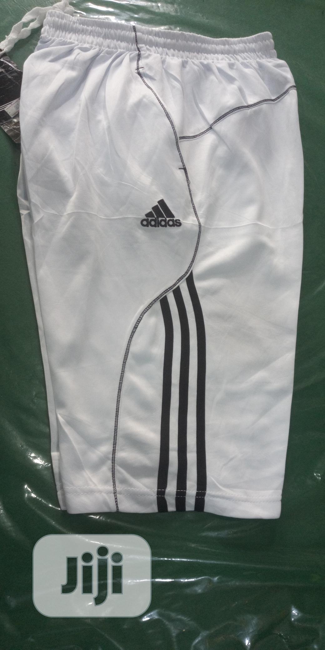 Archive: Adidas White Shorts
