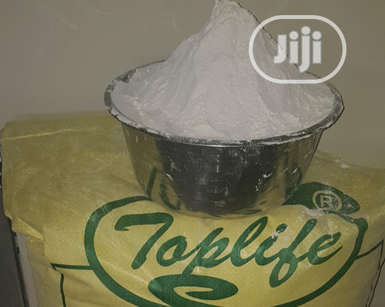 Toplife White Cassava Flour (50kg) | Meals & Drinks for sale in Ibadan, Oyo State, Nigeria
