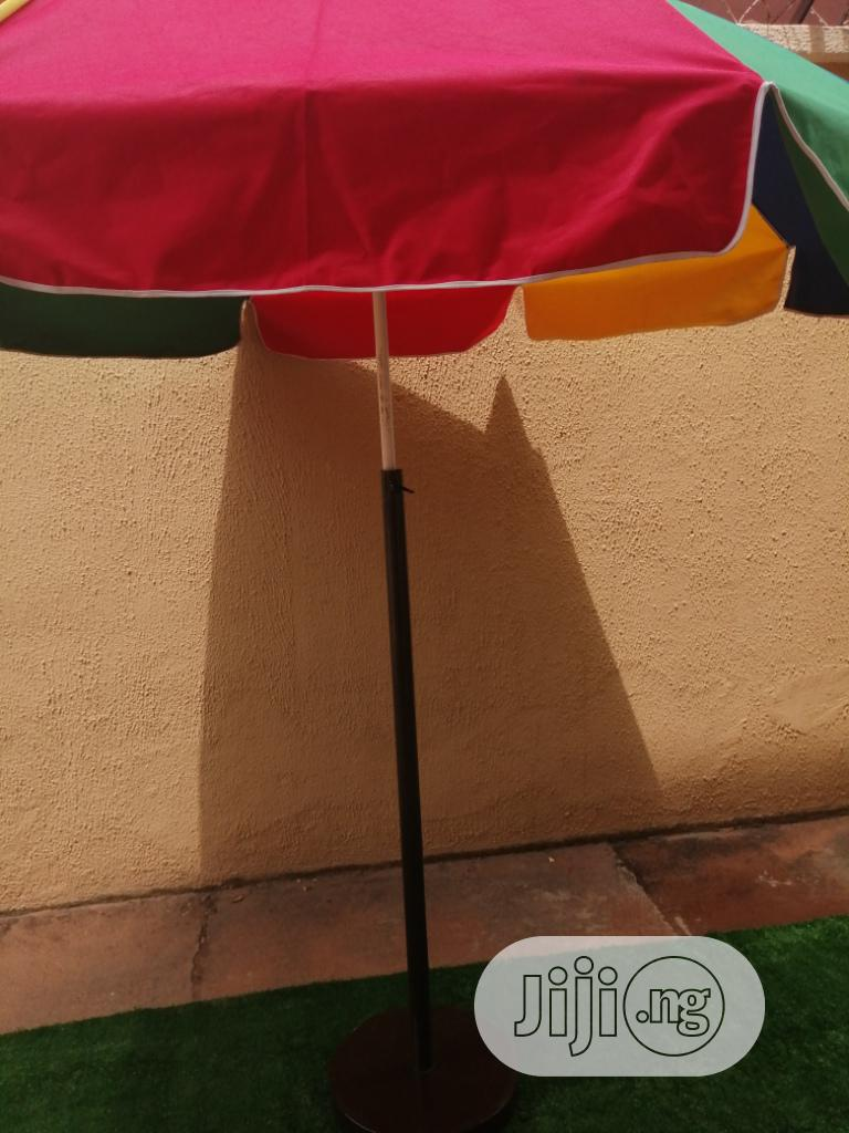 Quality Customized Parasol With Modern Stand For Sale